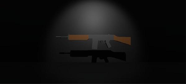 3d 3ds assault rifle r91