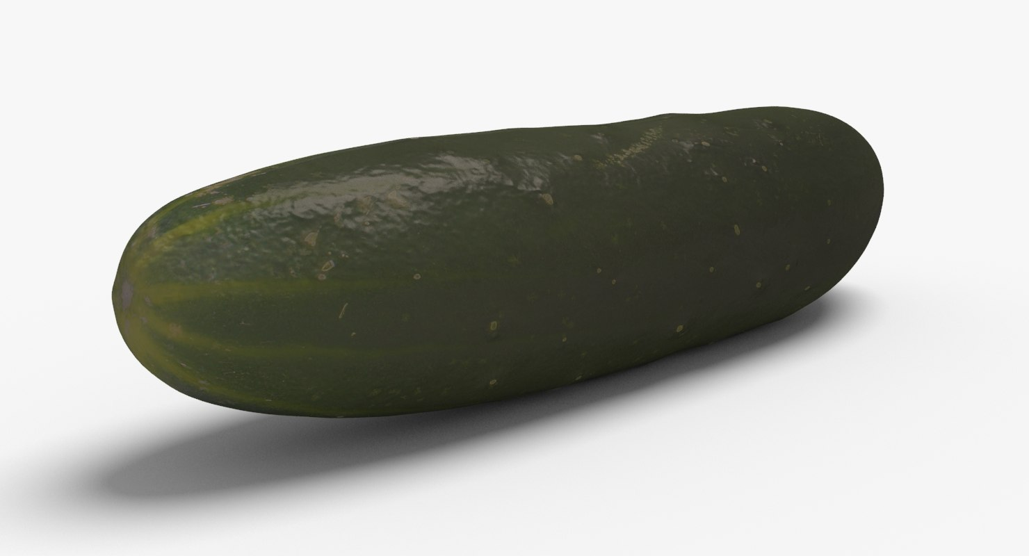 cucumber ready unreal 3d model