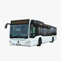 3d model mercedes-benz citaro