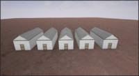 3d model old barn 2 |