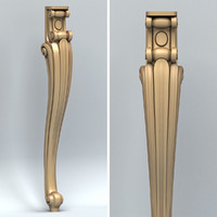 carved furniture leg max