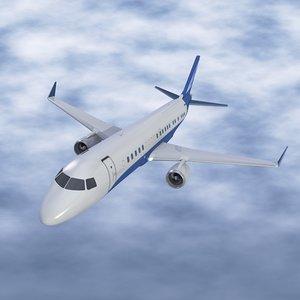 embraer corporate jet obj