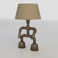 industrial lamp 3d model