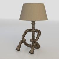 lamp industrial 3d model