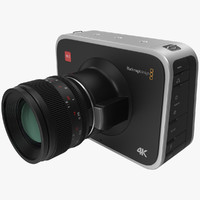 3d model blackmagic camera
