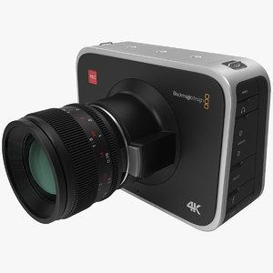 3d model blackmagic camera