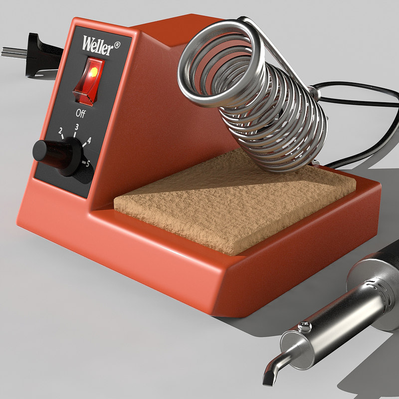 soldering iron station 3d x