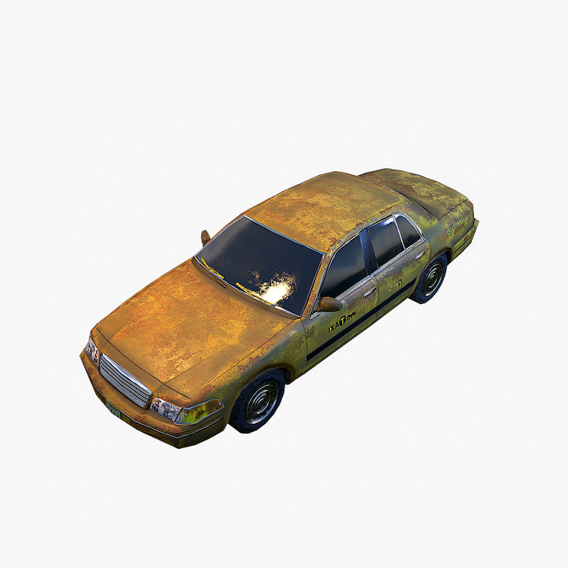 max old car taxi