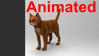 cat animations 3d 3ds