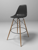 3d model eames chair