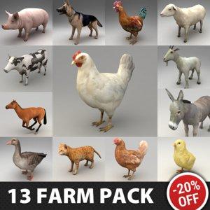 13 farm animal max