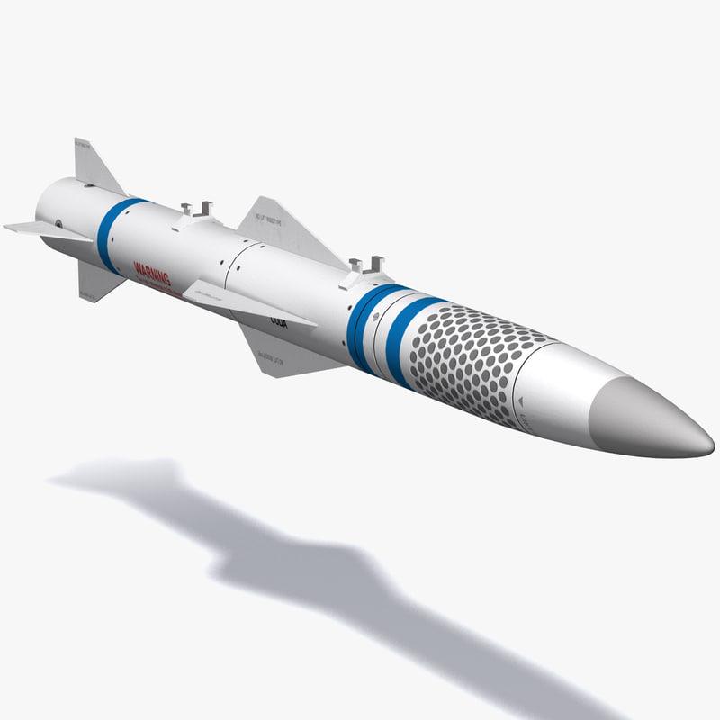 3d model cuda missile