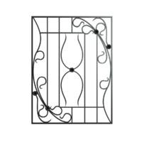 3d window bars