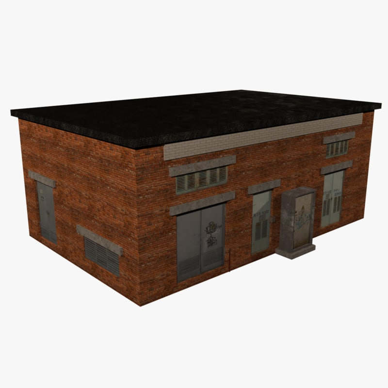 3d model electric substation