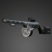 Submachine Gun PPSh-14