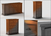 classic commode 3d model