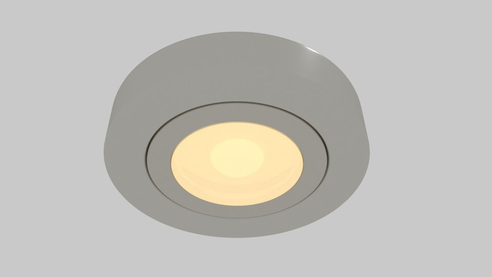 recessed light 3ds