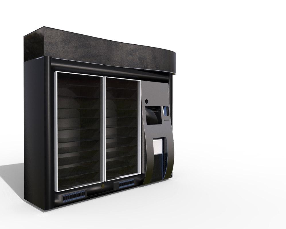 vendor machine 3d model
