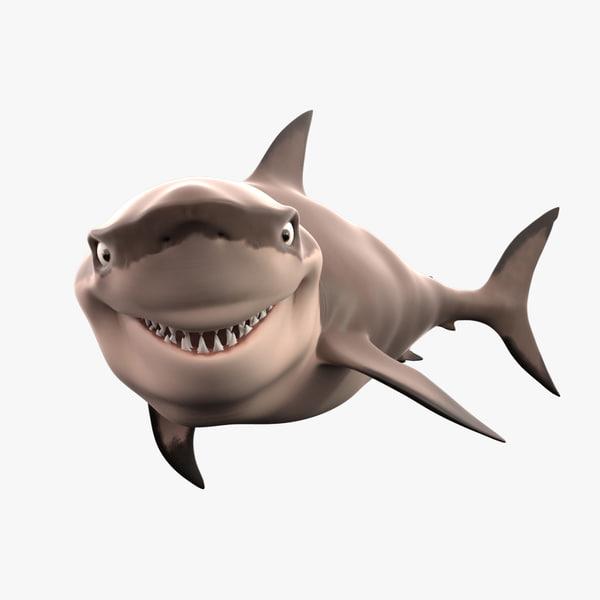 white shark toon max