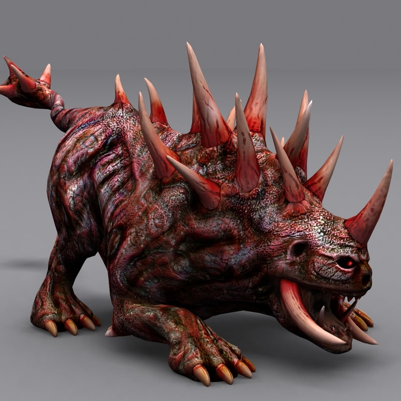 3d hellhounds -