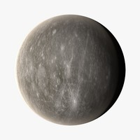 mercury planets 3d c4d