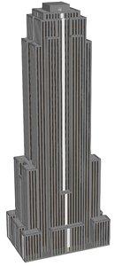 tall building 3d obj