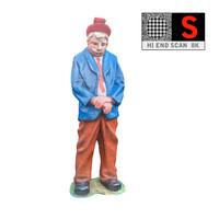 3d statue lunapark 8k