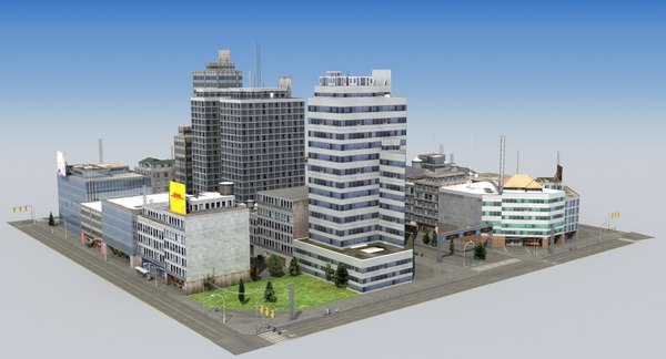 3ds hdrt city block c
