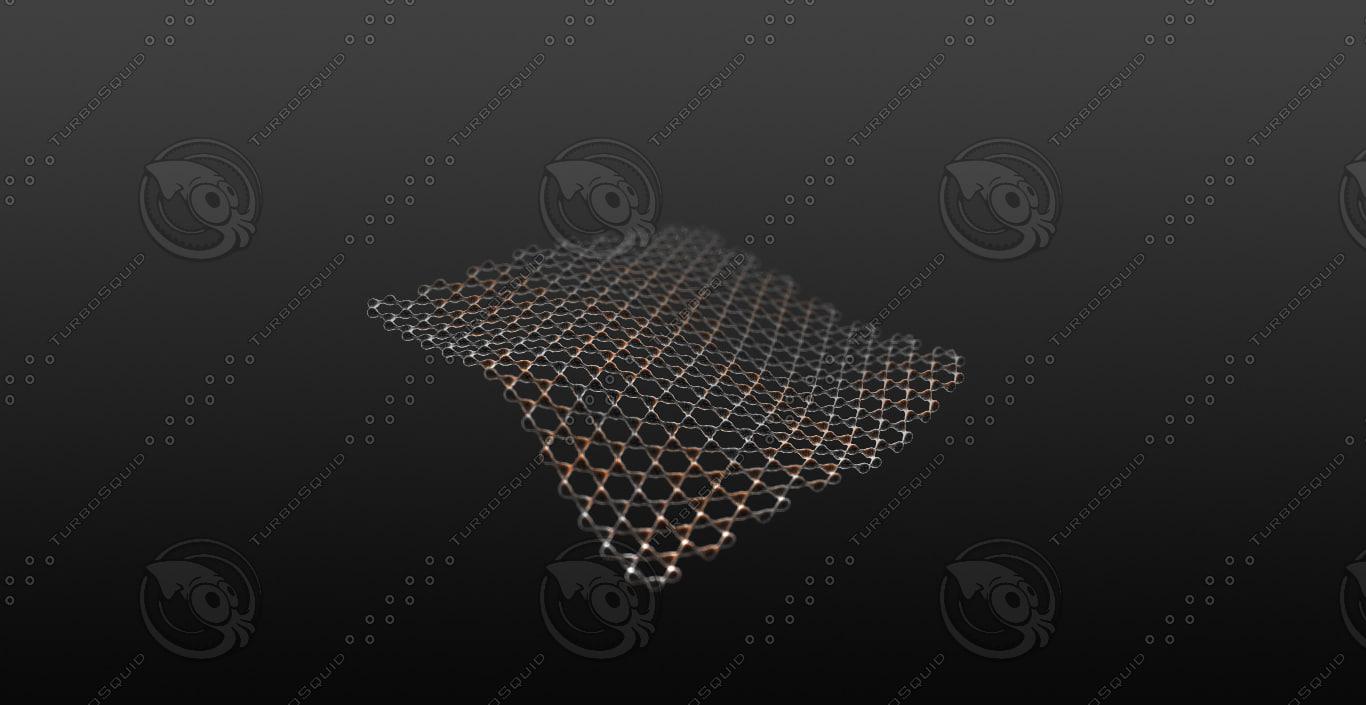 3d graphene mesh