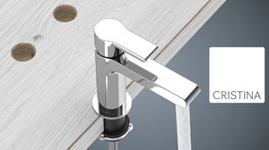 taps water corona 3d model