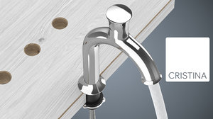 3d taps water corona