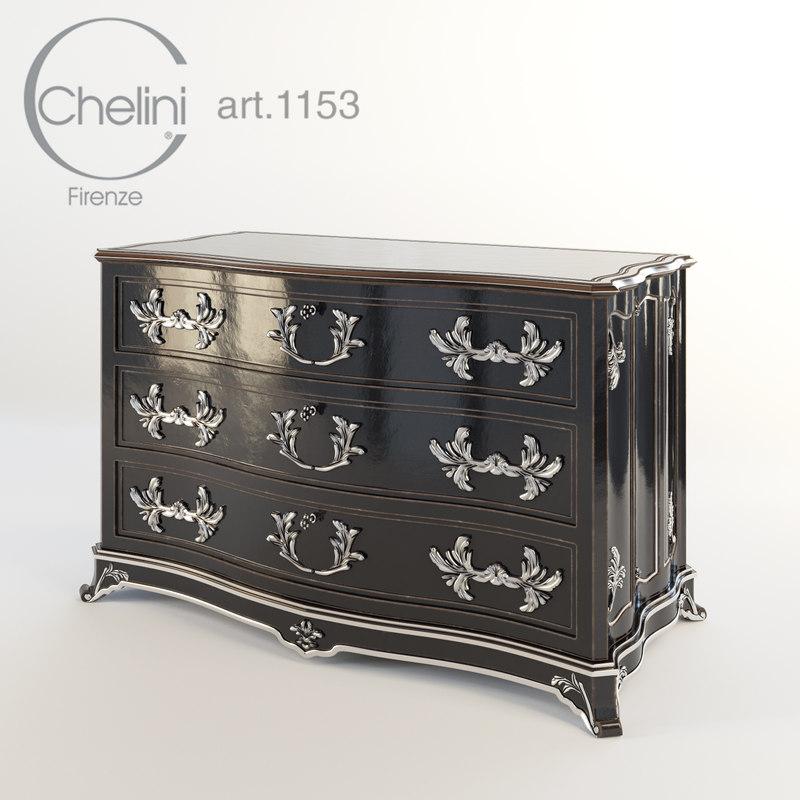 3d model chelini 1153