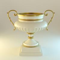 3d blender cup