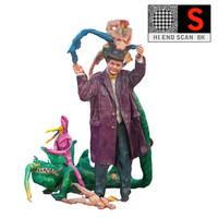 Psychedelic Sculpture Lunapark 8K
