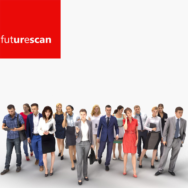 scan people 3d max
