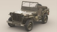 US Army Willys Jeep -B