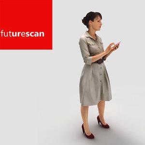 3d model photorealistic people