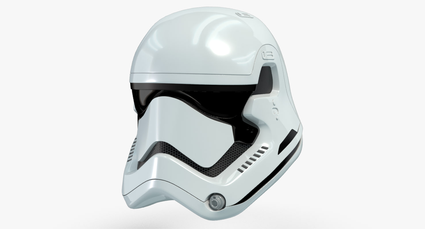 how to draw a stormtropper helmet in 3d