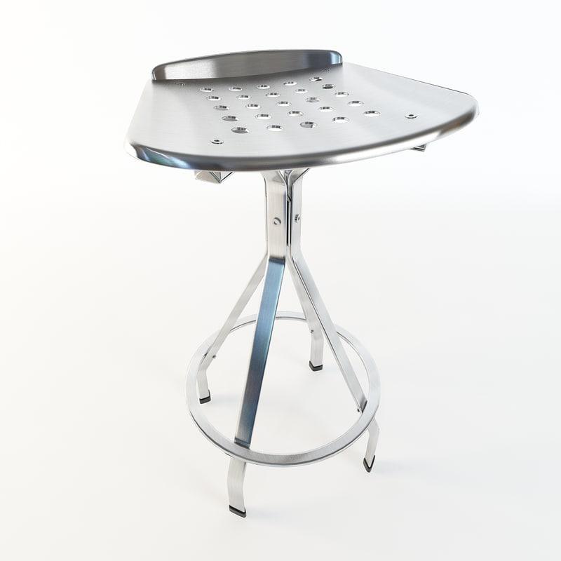 tech chair obj