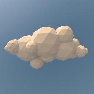 clouds pack landscape 3d ma