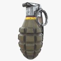max mk2 hand grenade -