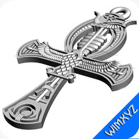 Egyptian Ankh Pendant Big