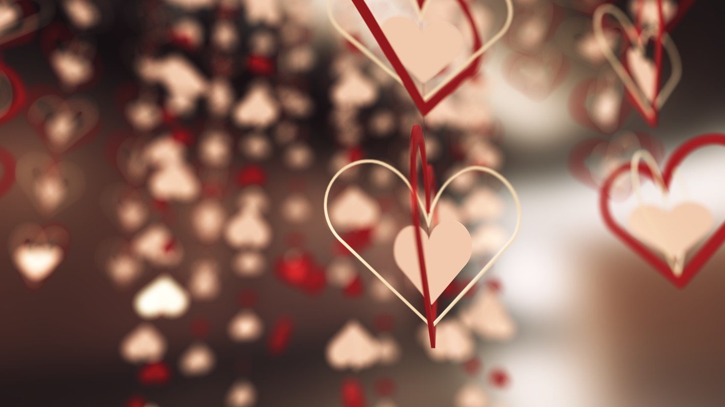3d max hearts pack
