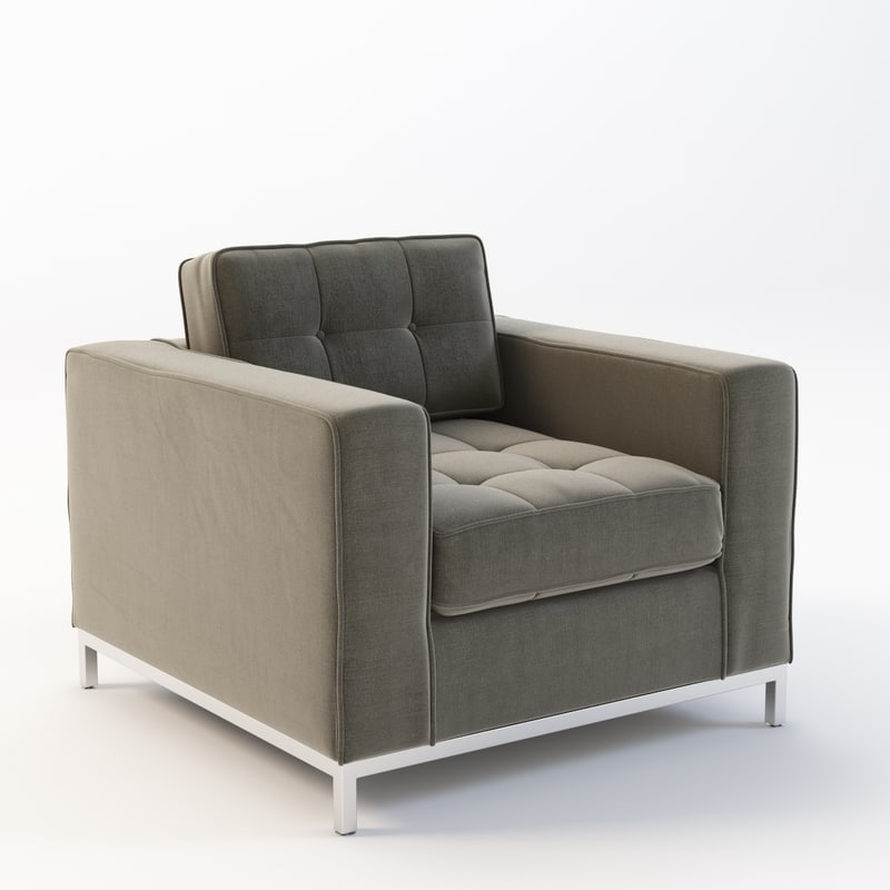 3d chair modern jane