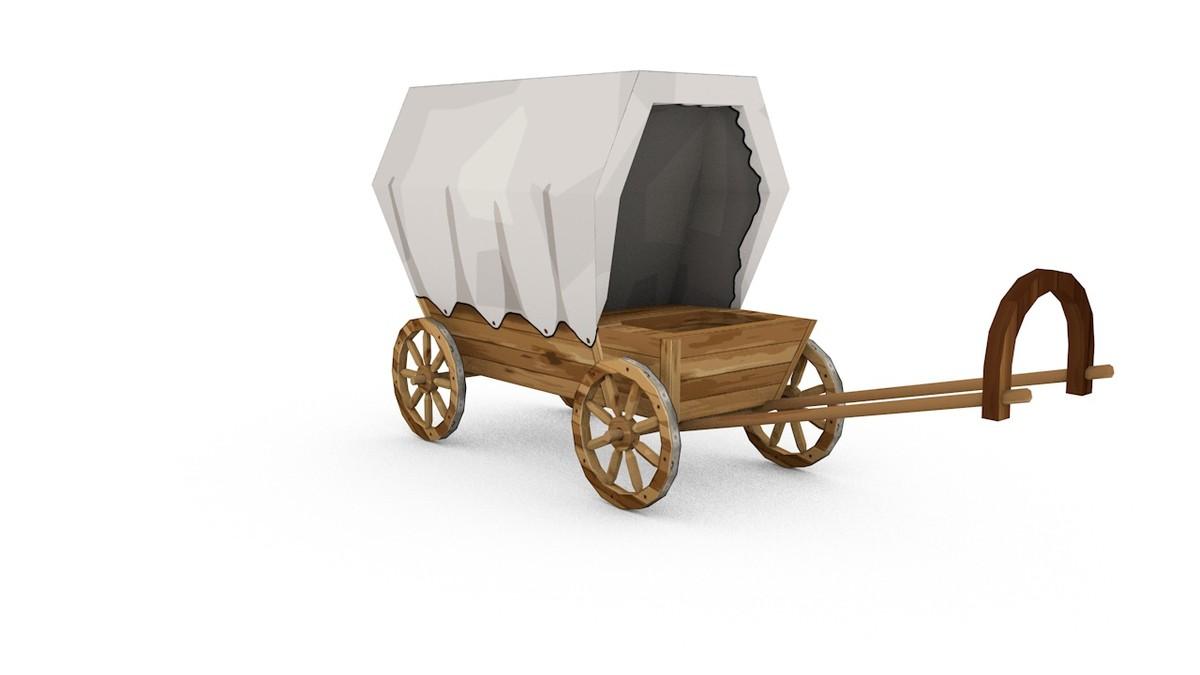 wild west wagon 3ds