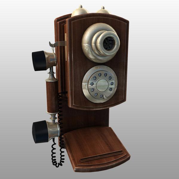 max telephone phone vintage