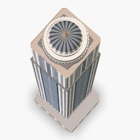 dubai princess tower 3d model