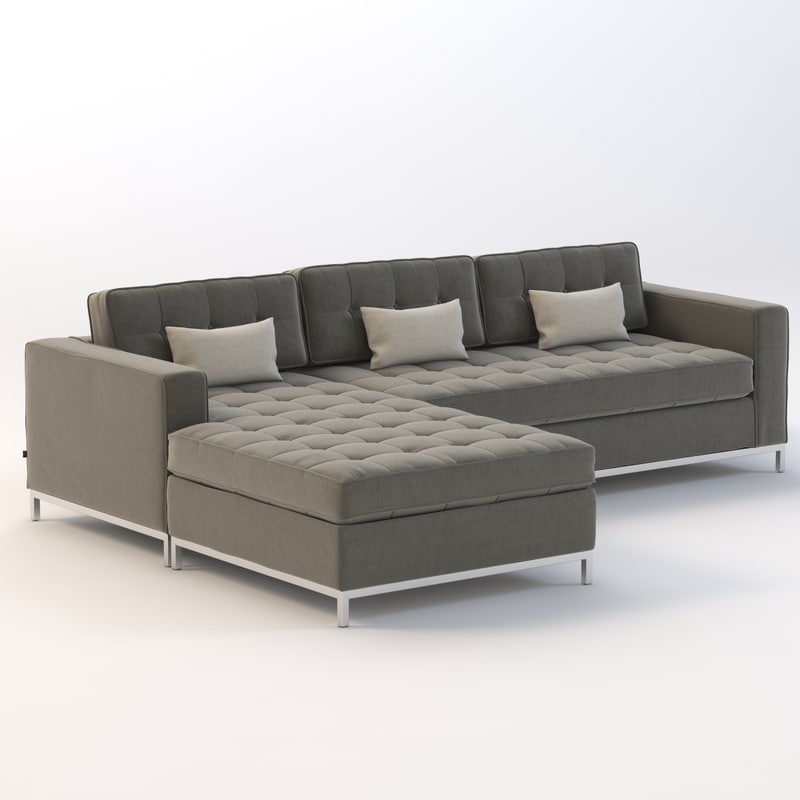 Gus Modern Jane Bi-Sectional Chaise : gus jane sectional - Sectionals, Sofas & Couches