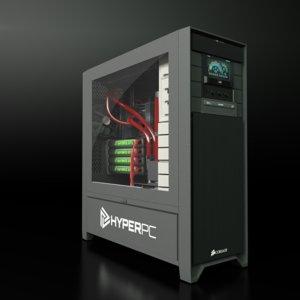 computers hyper level 10 3d max
