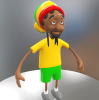 3d model toon character